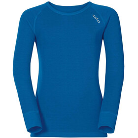 Odlo Active Warm Crew Neck LS Top Kids, directoire blue